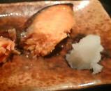 新橋銀水 新橋銀水ランチ 銀水鮭味噌焼き
