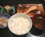 銀水 銀水ランチ 銀水鮭味噌焼き