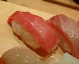 銀座 板前寿司 ランチ限定 彩りにぎり まぐろ中トロ