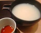 銀座 矢部 蕎麦湯