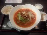 新橋鹿鳴春 ランチ坦坦麺