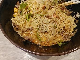 新橋 北斗 ランチ 冷やし胡麻味噌担々麺