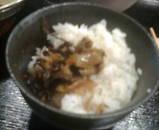 銀座 ほんじん 本陣 もつ鍋定食 めんたい高菜飯