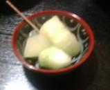 新橋 銀水 デザート メロン