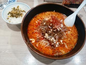 新橋 らーめん 北斗 ランチ 胡麻味噌担々麺