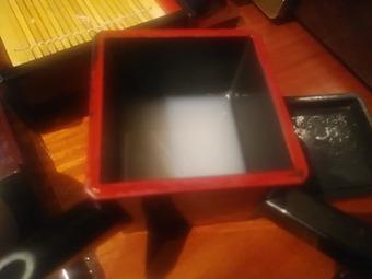 新橋 旧月 きゅうづき ランチ  お刺身・煮物とせいろの定食 そば湯
