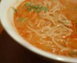 新橋 あんぽんたん ランチ 白ごまタンタン麺