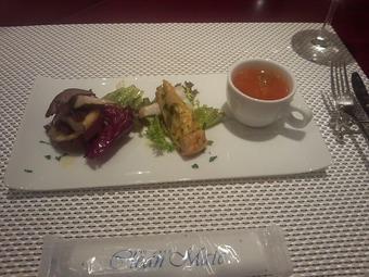 銀座 マラケッシュ パスタランチ 前菜3種