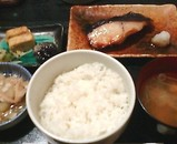 新橋 銀水 焼魚定食 銀だら