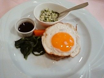 銀座 Sun-mi サンミ 高松 ランチ 黒毛和牛ハンバーグ浅葱ソース