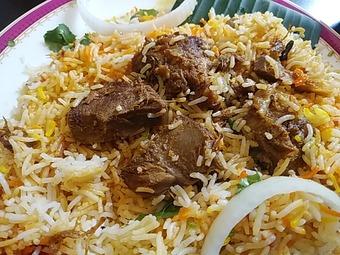 銀座インド料理カーンケバブ ビリヤニ  ラムビリヤニ  ランチ