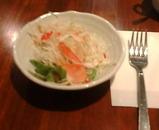 銀座 アンバー ランチ サラダ