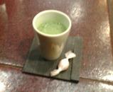 銀座岡半 ランチ 抹茶