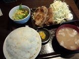 新橋 ENZAN ワイン豚生姜焼