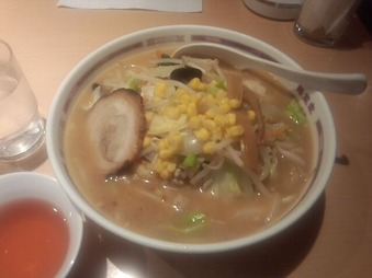 銀座 北斗 ランチ 野菜麺味噌