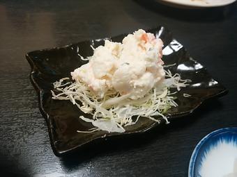 新橋 和楽 ランチ いくら丼 ポテトサラダ ポテサラ