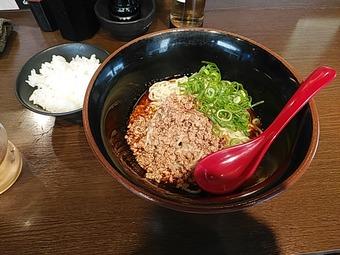 新橋 広島汁なし坦々麺 山椒家 さんしょうや ランチ