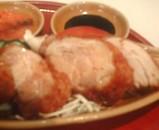 海南鶏飯 汐留店 シンガポールチキンライス 揚げ