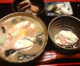 新橋 鹿火矢(かびや) 鯛茶漬
