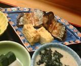 銀座 熊さわ ランチ 焼き魚 さんま