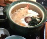 銀座 羅豚 らぶ はなれ ランチ 鍋焼きうどん