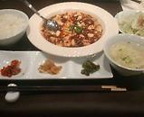 銀座 中華 新香楼 ランチ 麻婆豆腐