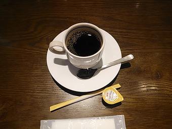 銀座ライオン新橋店 ランチコーヒー