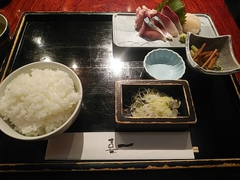 浜松町 蕎麦 嘉一 かいち ランチ 刺身御膳