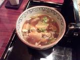新橋本陣房本店 ランチ 冬野菜つけ麺