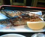 新橋 駅前ビル 和作 サンマ焼き とろろ定食
