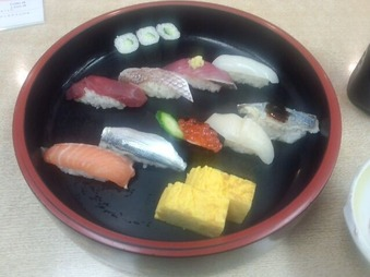 築地 江戸銀本店 ランチ 鮨定食