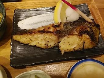 新橋 魚焼男 ランチ 焼魚定食 鰆サワラ西京焼