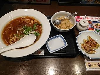 リンガーハット 銀座店 ふかひれ姿煮麺