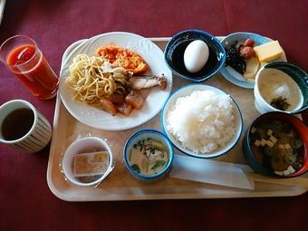 富士カントリー笠間クラブ 朝食バイキング