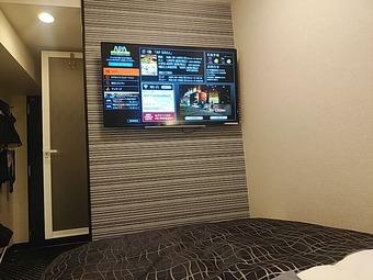 アパホテル APAホテル 東梅田南森町駅前 大画面テレビ