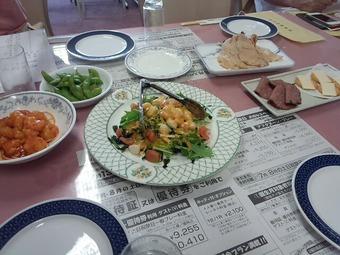 新千葉カントリー倶楽部 パーティー料理