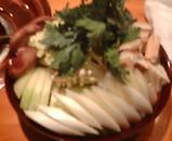 銀座 青葉家 すき焼き 野菜
