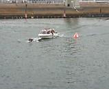 江戸川競艇 落艇 救助