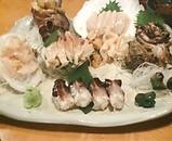 魚金 新橋二号店 貝刺身盛り