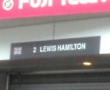 F1 マクラーレン ハミルトン