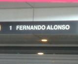 F1 マクラーレン アロンソ