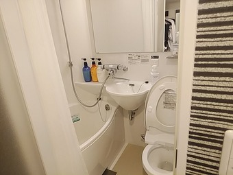 アパホテル APAホテル 東梅田南森町駅前 浴室
