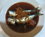 錦糸町 魚虎 いわし 鰯 生姜梅煮