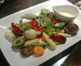 銀座 長野 信州郷土料理 だいしん 彩り野菜のグリル