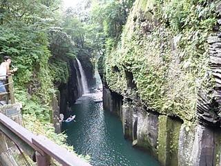 九州 宮崎 高千穂渓谷