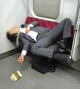 黒石さん 電車 泥酔