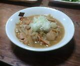 蒲田 鳥万 鶏煮込み豆腐