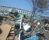 東日本大震災 津波 宮城 多賀城 沿岸 瓦礫