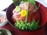 太平洋 美野里コース 昼飯 マグロ丼