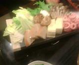 新橋 鍋屋 なべや 豚水炊き